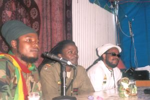 SNWMF Press Conference 2005 - Pressure, Army & Iba